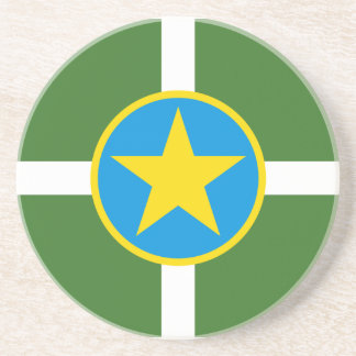 Jackson Mississippi Flag Coaster