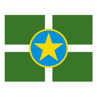 Jackson Mississippi Flag Postcard