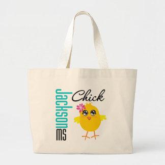 Jackson MS Chick Jumbo Tote Bag