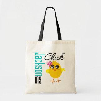 Jackson MS Chick Budget Tote Bag