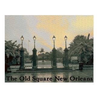 Jackson New Orleans cuadrada Postales