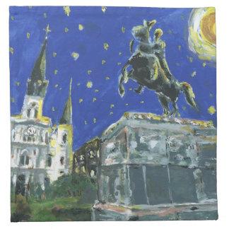 Jackson New Orleans cuadrada Servilleta De Papel