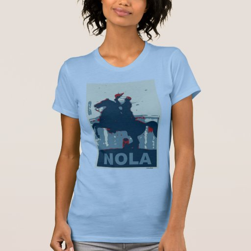 Jackson NOLA Red And Blue T-shirt