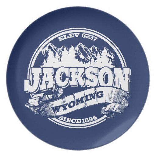 Jackson Old Circle Blue Party Plates