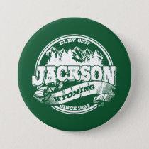 Jackson Old Circle Green Pinback Button