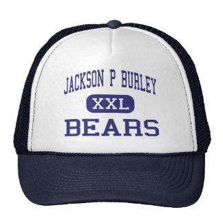 Jackson P Burley Bears Charlottesville Trucker Hat