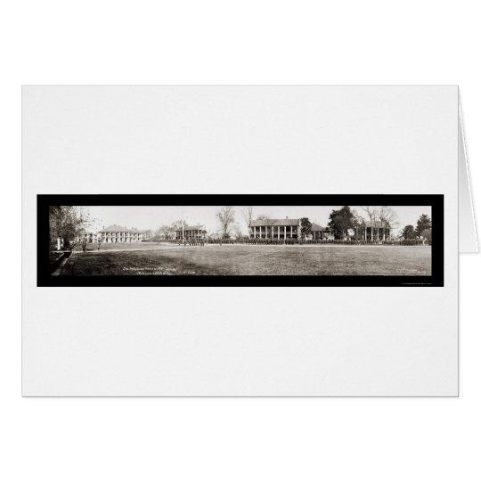 Jackson Pershing Troops Photo 1920 Card