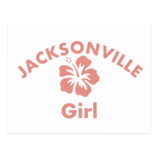 Jackson Pink Girl Postcard