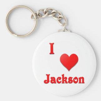 Jackson -- Red Keychains