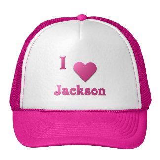 Jackson -- Rosas fuertes Gorras De Camionero