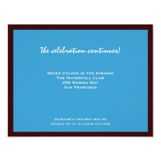 Jackson RSVP Bar Mitzvah Card
