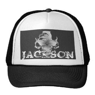 JACKSON SKULL TRUCKER HAT