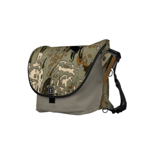 Jackson Square New Orleans Abstract Courier Bags