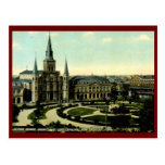Jackson Square, New Orleans, LA 1910 Vintage Post Card