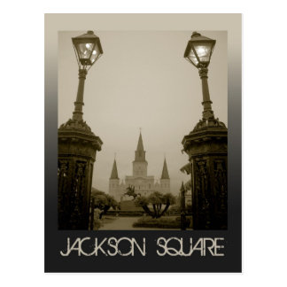 Jackson Square, New Orleans, LA Postcard