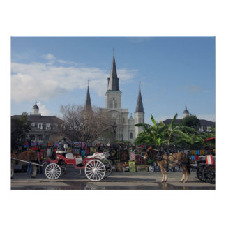 Jackson Square-New Orleans Poster