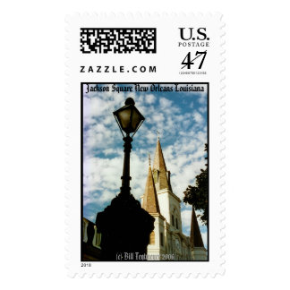 Jackson Square New Orleans Stamp