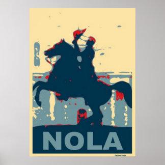 Jackson Square-NOLA Poster