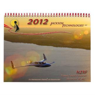 Jackson Technologies 2012 Calendar Velocity N2XF