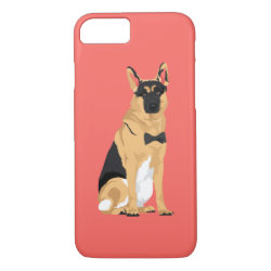 Jackson The Dapper German Shepherd iPhone 8/7 Case