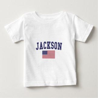 Jackson TN US Flag Baby T-Shirt
