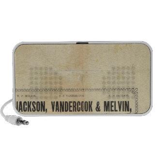 Jackson, Vandercook y Melvin Laptop Altavoz