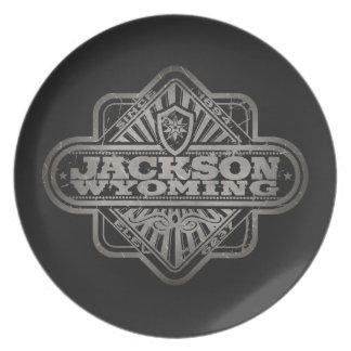 Jackson Vintage Diamond Party Plate