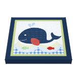 Jackson//Whale/Fish Canvas Print