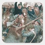 Jackson's Brigade Standing Like a Stone Wall Square Sticker