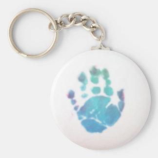 Jackson's Hand Basic Round Button Keychain