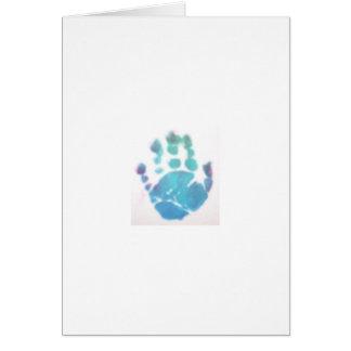 Jackson's Hand Print Greeting Card