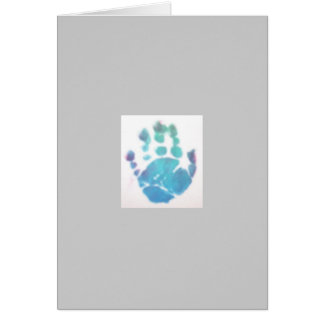 Jackson's Hand Print Stationery Note Card