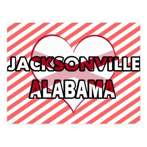 Jacksonville, Alabama Postcard
