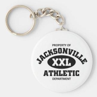Jacksonville Athletic department Keychains