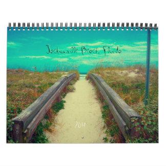 Jacksonville Beach 2014 Calendar