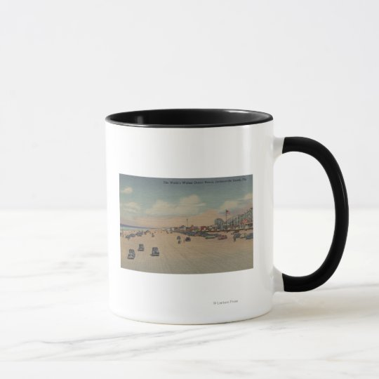 Jacksonville Beach, FL - The world's Widest Ocea Mug