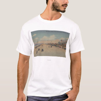 Jacksonville Beach, FL - The world's Widest Ocea T-Shirt