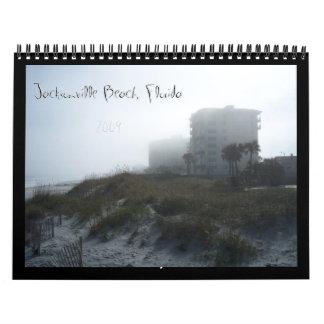 Jacksonville Beach, Florida 2009 Calendar
