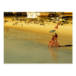 Jacksonville Beach Lifeguards Postcard