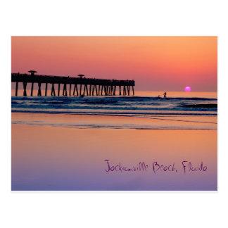 Jacksonville Beach, Sunrise Postcard