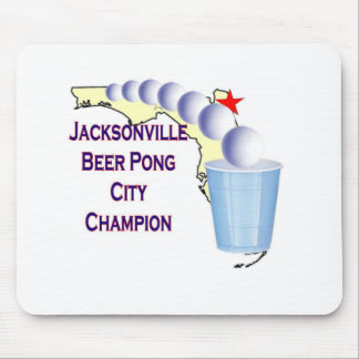Jacksonville Beer Pong Champion Mousepad