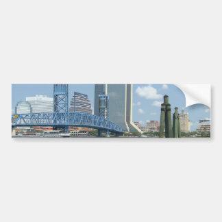 Jacksonville Etiqueta De Parachoque