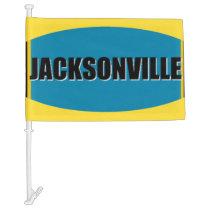 Jacksonville Car Flag