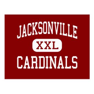 Jacksonville - Cardinals - High - Jacksonville Postcard