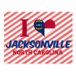 Jacksonville, Carolina del Norte Tarjetas Postales