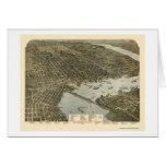 Jacksonville, FL - 1893 Greeting Card
