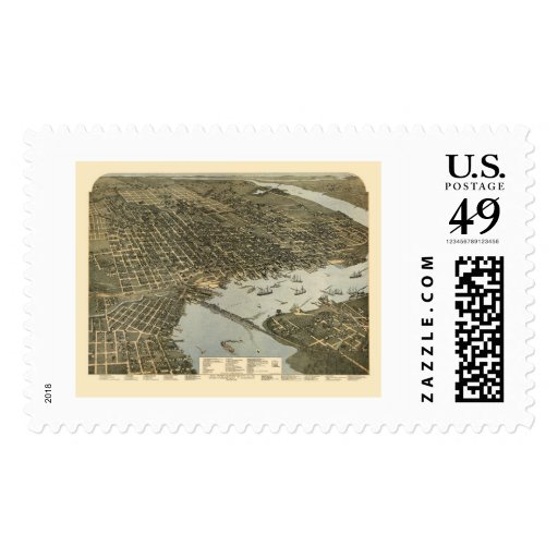 Jacksonville, FL - 1893 Postage