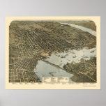 Jacksonville, FL - 1893 Poster
