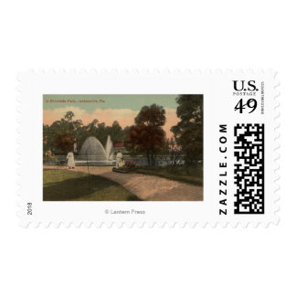 Jacksonville, FL - View of Riverside Postage