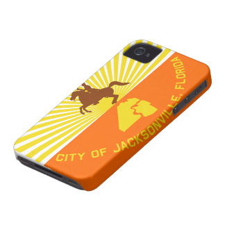 Jacksonville Flag iPhone 4 Case